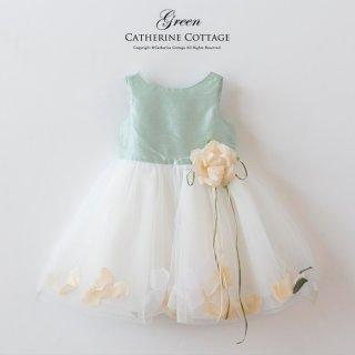 要出典 ベビードレス 結婚式 キャサリンコテージ 花びら揺れるロマンティックベビードレス