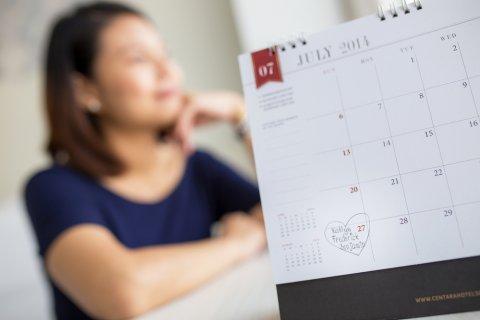 妊婦 女性 カレンダー