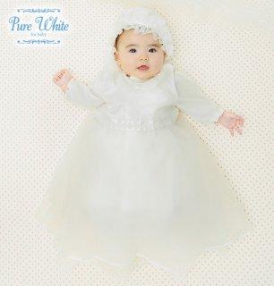 要出典 セレモニードレス チャックル ピュアホワイト セレモニードレス 3点セット