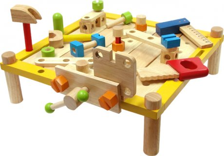 要出典 3歳 男の子 誕生日プレゼント エデュテ アイムトイ カーペンターテーブル