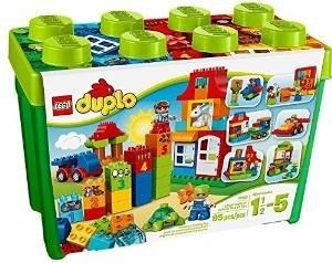 要出典 1歳の誕生日プレゼント 男の子 レゴ デュプロ みどりのコンテナスーパーデラックス