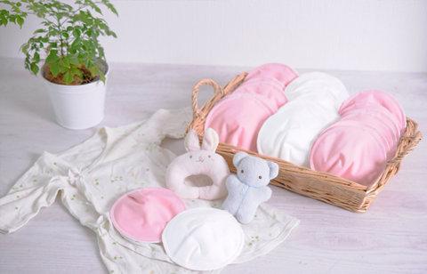 要出典 母乳パッド 布製 nunona 母乳パッド オーガニックコットン