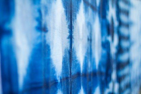 藍染め 藍色