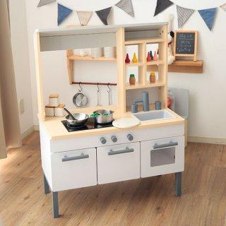 要出典 2歳 おもちゃ ロウヤ おままごとキッチン キッチンとお店一体型