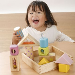 要出典 生後6ヶ月 知育玩具 エドインター 音いっぱいつみき