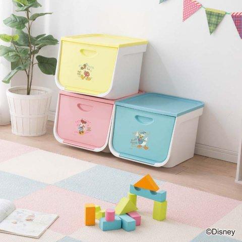 要出典 おもちゃ収納棚 アイリスオーヤマ フラップボックス FLP-MK Disney 3個セット