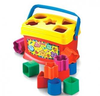 要出典 0〜1歳知育玩具 フィッシャープライス はじめてのブロック