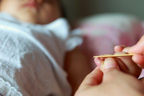 赤ちゃん 爪やすり 爪切り