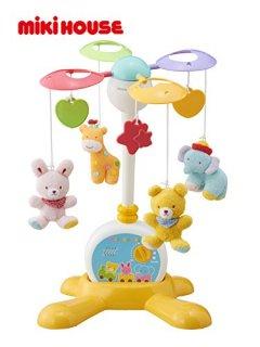 新生児のおもちゃ 新生児のおもちゃ ミキハウスファースト 2WAY仕様のファーストメリー