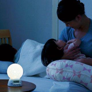 要出典 授乳ライト 夜の赤ちゃんのお世話に!授乳時間が記録できるLEDライト