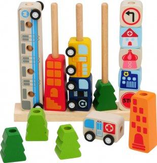 要出典 生後11ヶ月 知育玩具 1歳 アイムトイ  ソート&カウントシティ