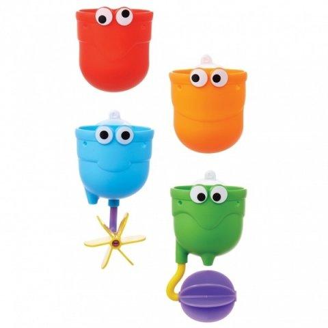 要出典 水遊びおもちゃ マンチキン ちょろくるカップ・フレンズ