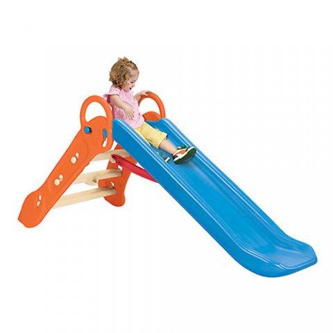 要出典 水遊びおもちゃ 折りたたみロングすべり台