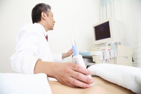 日本人 エコー検査 医師