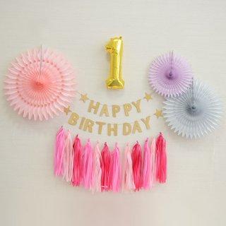 要出典  1歳 誕生日プレゼント 女の子 1stバースデーパッケージ パステルジュエリー ピンク お誕生日のお祝い