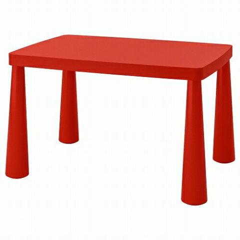 要出典 キッズテーブル イケア MAMMUT 子供用テーブル