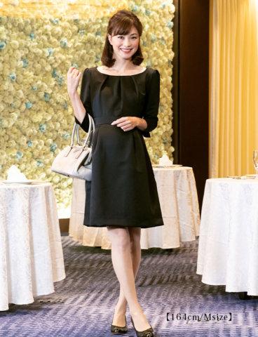 要出典 授乳ドレス スウィートマミー グログラン フォーマル ワンピース