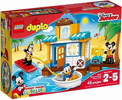 要出典 3歳 男の子 誕生日 プレゼント レゴ (LEGO) デュプロ ディズニー ミッキー&フレンズのビーチハウス