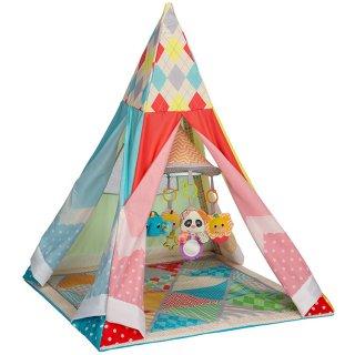 要出典  1歳 誕生日プレゼント 女の子 インファンティーノ アクティビティジム プレイマット テント