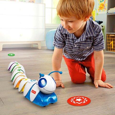要出典 3歳 男の子 誕生日 プレゼント フィッシャープライス プログラミングロボ コード・A・ピラー