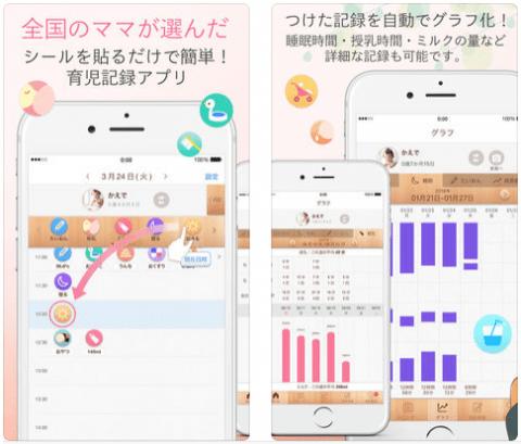 要出典 育ログ 育児アプリ