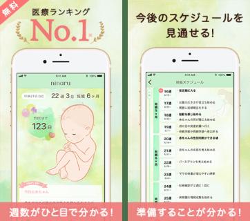 ninaru 2 妊娠アプリ eversense