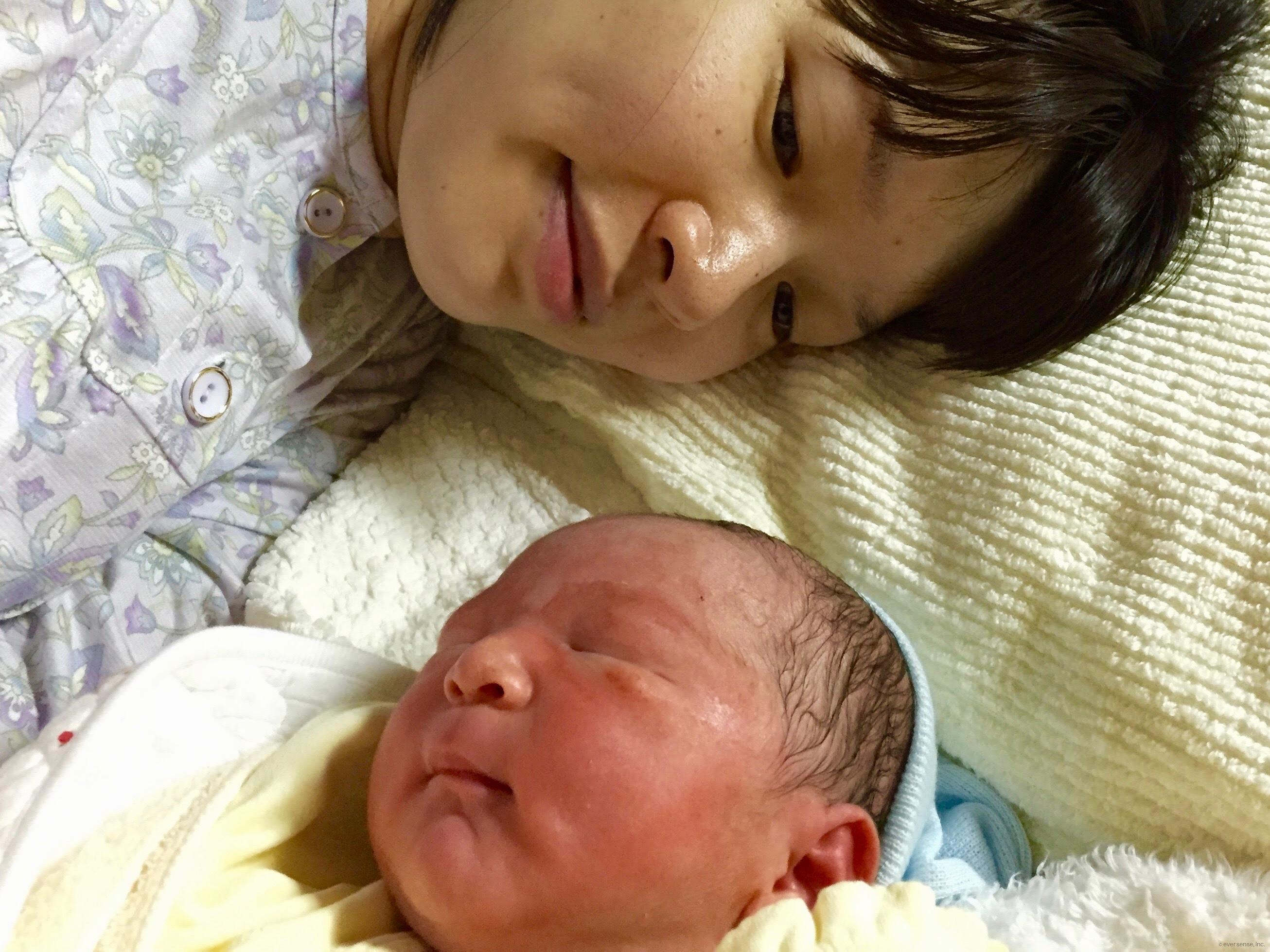 【私の妊娠・出産体験記】まさかの車内出産!元気に生まれてきました