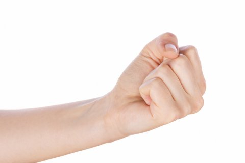 拳 ぐー 女性 手