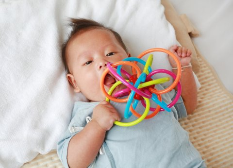日本人 赤ちゃん おもちゃ