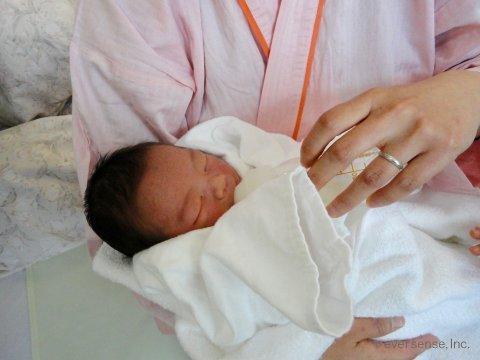 妊娠・出産体験記 オリジナル 新生児 Y ロゴ入り
