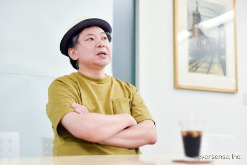 鈴木おさむ氏 ママにはなれないパパ インタビュー風景12 eversense