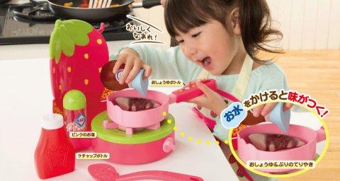 要出典 2歳 女の子 誕生日プレゼント ピープル 2歳からのキッチンデビュー ままごとシリーズ 味付け屋さんコンロ