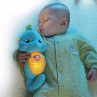 新生児のおもちゃ フィッシャープライス おやすみタツノオトシゴくん