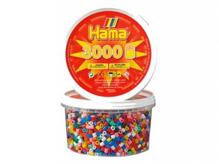 要出典 4歳 女の子 誕生日 プレゼント ボーネルンド ハマビーズ 丸ボックス 基本色