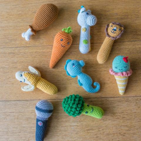 要出典 新生児 おもちゃ ウィーゴアミーゴ ラトルトイ ガラガラ