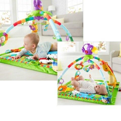 要出典 新生児のおもちゃ フィッシャープライス レインフォレスト・デラックスジム2