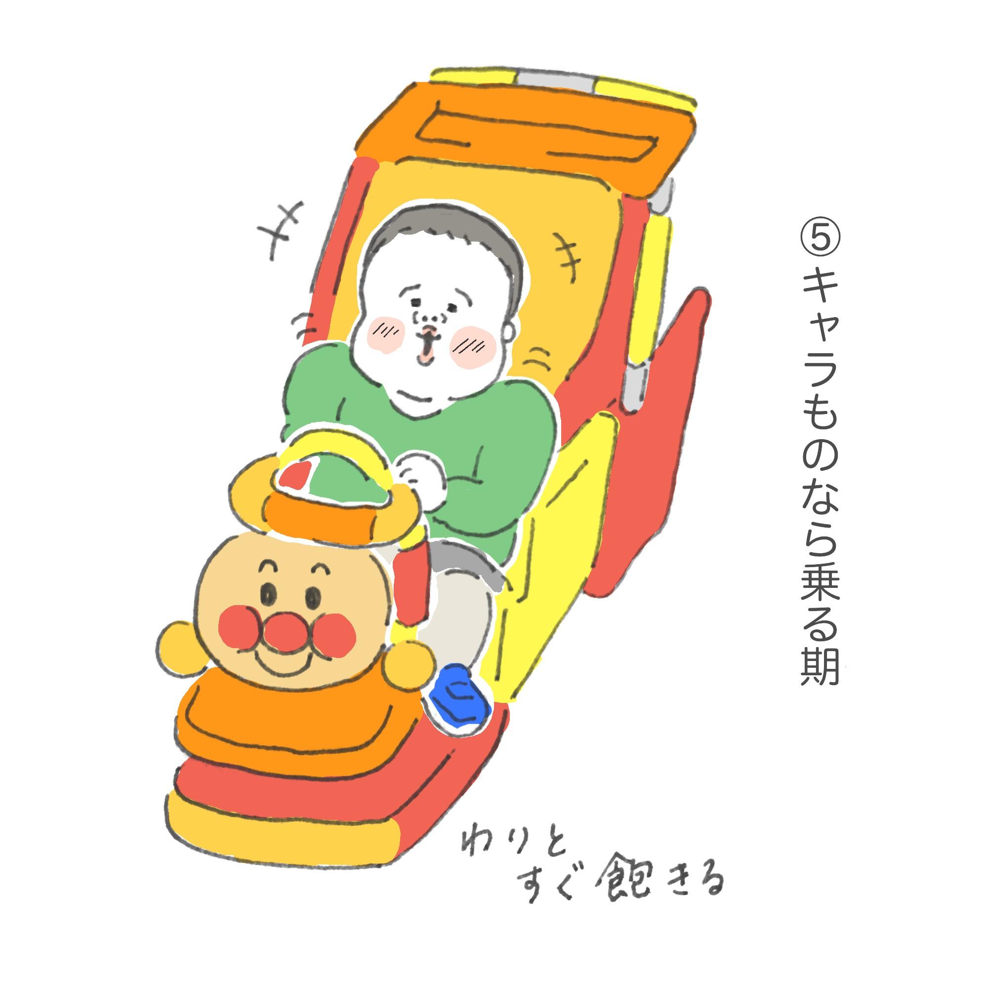 ちっちくん連絡帳#1「ショッピングカートの乗り方」