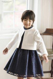 要出典 小学校 入学式 女の子 服装 キャサリンコテージ 入学式スーツ 総レースフリル襟ワンピースアンサンブル