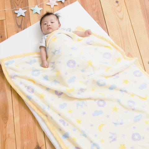 要出典 ベビー毛布 抗菌・抗ウイルス効果 ベビー毛布
