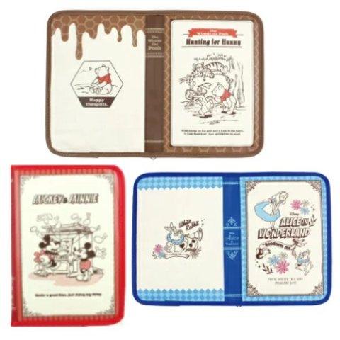 要出典 母子手帳ケース ディズニー ディズニー 母子手帳ケース 片面ジャバラタイプ ブック型