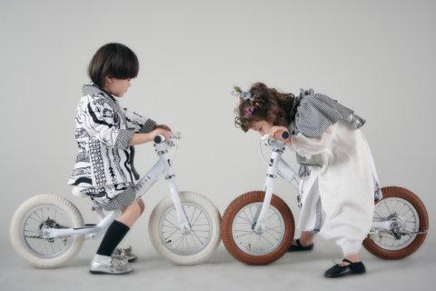 要出典 ペダルなし自転車 SPARKY エクリュ ペダルなし自転車