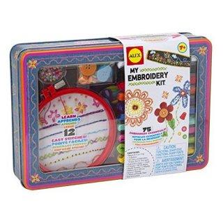 要出典 8歳 女の子 誕生日 ALEX 女の子 刺繍キットマイエンブロイダリーキット