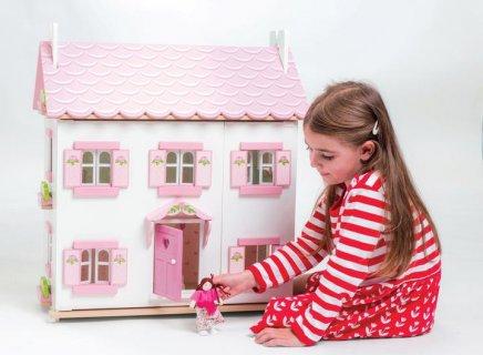 2歳 3歳 クリスマスプレゼント イギリス レトイバン ラベンダーハウス ミニチュアハウス 二階建て 屋根裏付き