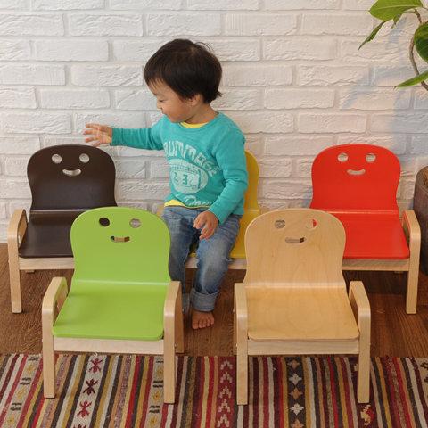 要出典  子供用椅子 こどもと暮らし にっこり チェア