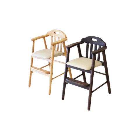 要出典 子供 椅子 オイル塗装のベビーチェア デラックス 完成品 キッズチェア 子供用