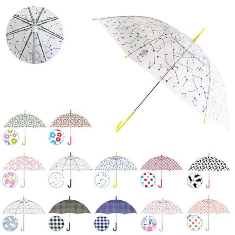 要出典 子供用傘 おめかしアンブレラ ビニール傘