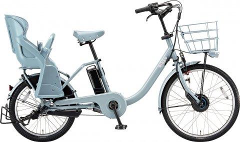 要出典 子供乗せ自転車 ブリヂストン 2019年モデル ビッケモブ dd 電動アシスト自転車