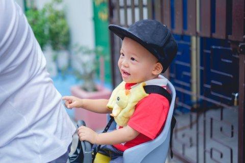 子供乗せ自転車 子供 後ろ乗り 安全