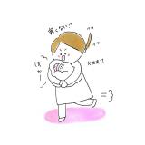 育児漫画 げんきっこつららちゃん ふゆだこん子  2話