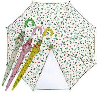 要出典 子供用傘 エリックカール 子供用 はらぺこあおむしプリント